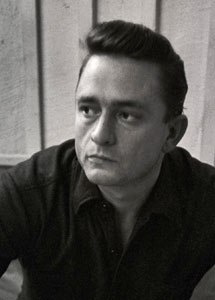 Johnny Cash by Don Hunstein