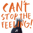 Justin Timberlake 'Can't Stop The Feeling' artwork