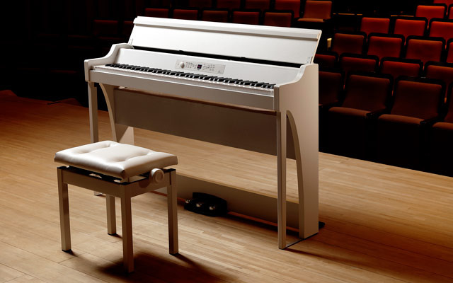 Korg G1 Air Concert white piano