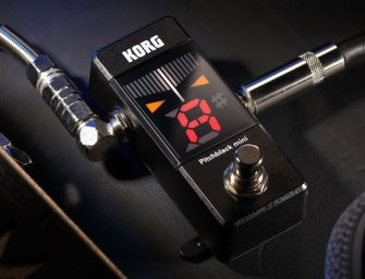 Korg announces Pitchblack mini tuner