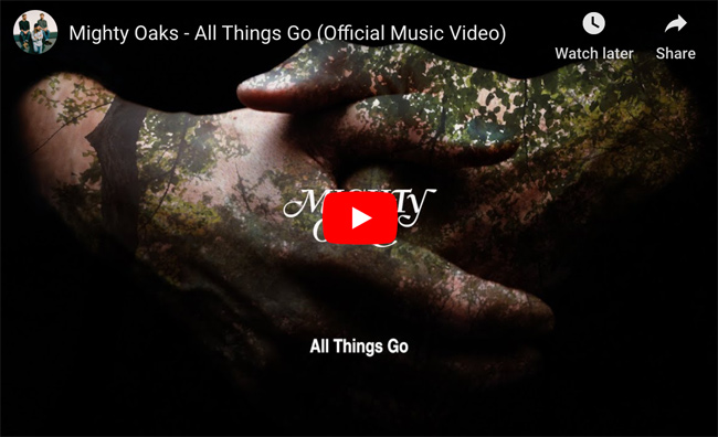 Mighty Oaks 'All Things Go'