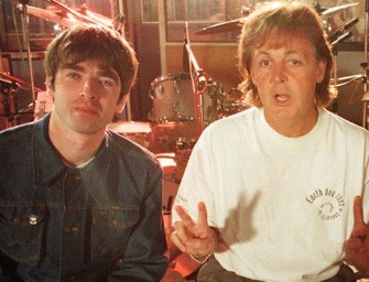 Gallagher challenges McCartney to write Oasis' comeback song