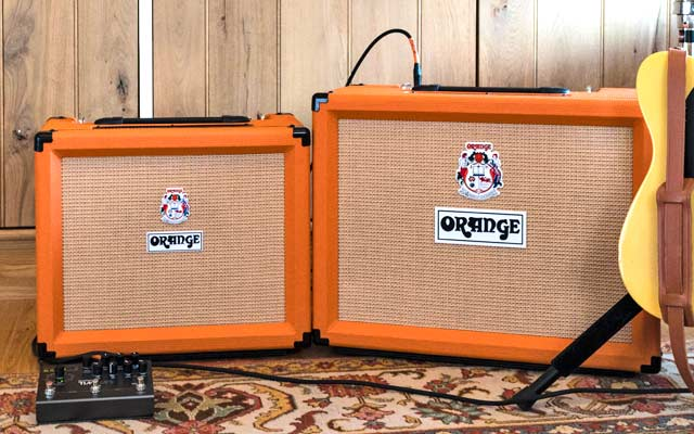 Orange Rocker amps