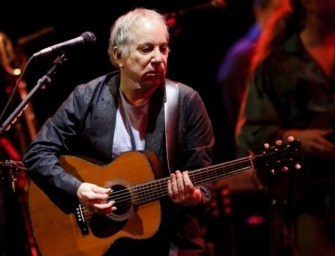 Paul Simon scores first UK No 1 album for 25 years