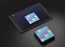 ROLI's Lightpad Block and Noise on iPad
