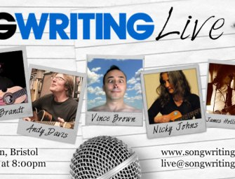 Songwriting Live, Bristol (24 June '14)