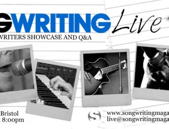 Songwriting Live, Bristol (26 August '14)