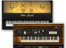 AIR Music Technology Mini Grand and DB-33 Tonewheel Organ