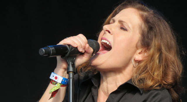 Alison Moyet at Camp Bestival 2015
