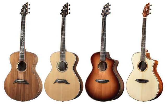Breedlove 25th anniversary models