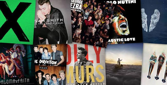 British acts dominate 2014 top 10 artist albums chart