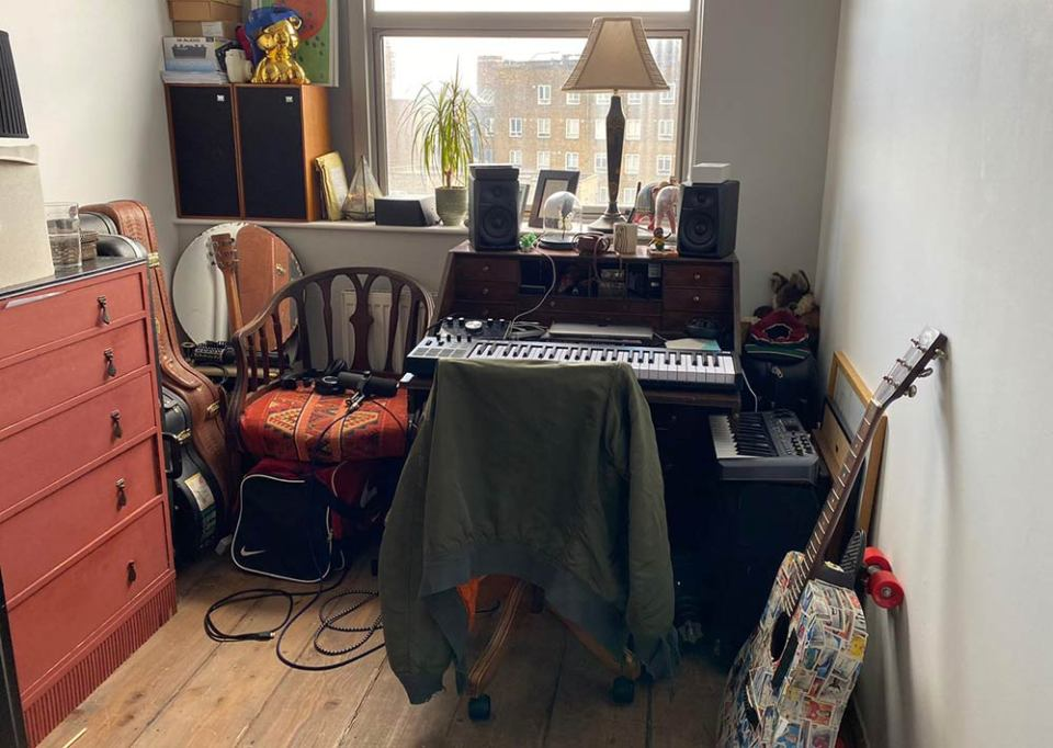 Childe's studio