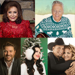Various albums by Garth Brooks & Trisha Yearwood, Tommy Emmanuel, Loretta Lynn, Kacey Musgraves and Chris Young (Albums)