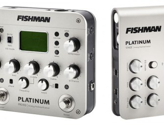 Fishman releases new Platinum acoustic analog preamps