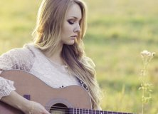 Girl in a field songwriting