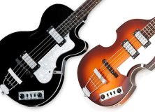 Hofner Ignition bass guitars