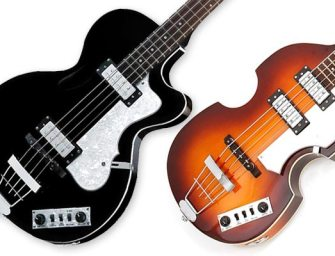Hofner releases pair of Ignition basses