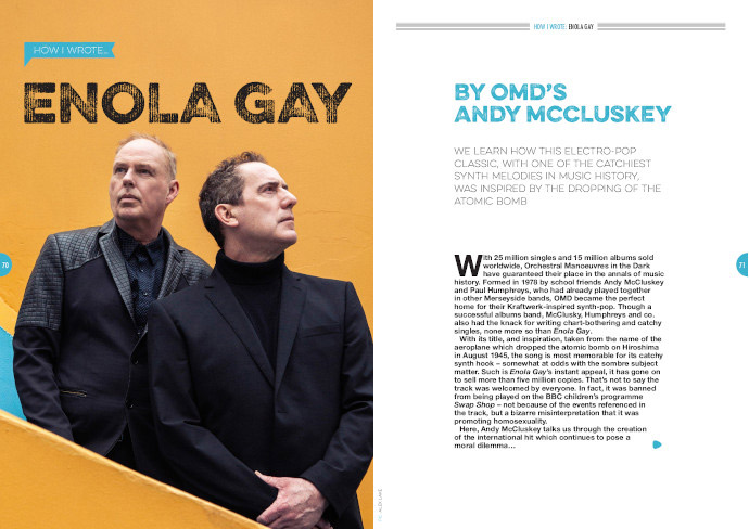 How I wrote 'Enola Gay' by OMD
