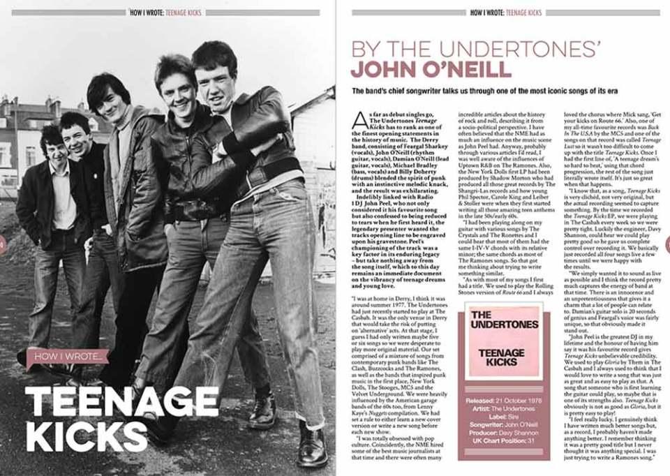 How I wrote 'Teenage Kicks' in Songwriting Magazine