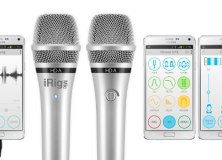 IK Multimedia iRig Mic HD-A and EZ Voice for Android