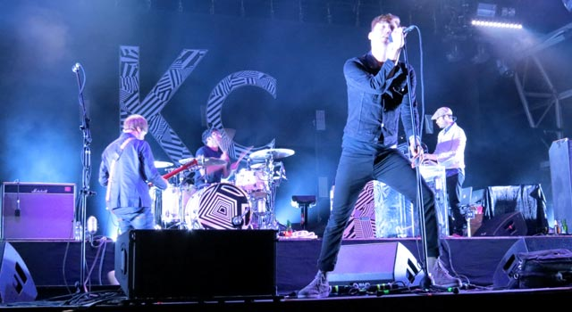 Kaiser Chiefs at Camp Bestival 2015