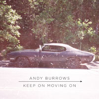Andy Burrows 'Keep On Moving On' packshot