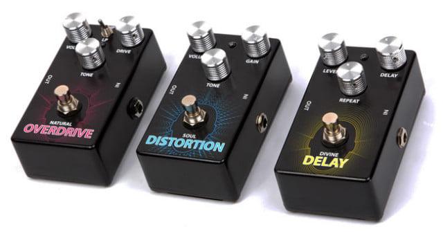 Lindo guitar pedals