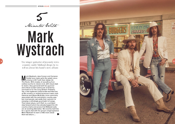 Midland's Mark Wystrach in Songwriting Magazine