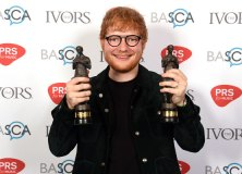 2018 Ivor Novello Award for Songwriter Of The Year Ed Sheeran by Mark Allan