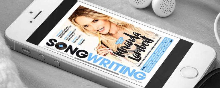 Songwriting Magazine Winter 2019 cover header