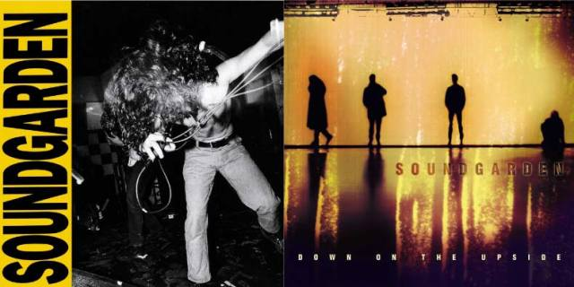 Soundgarden LPs 'Louder Than Love' and 'Down On The Upside'