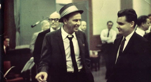 Frank Sinatra and Tony Hatch