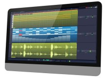 Tracktion T7 screenshot: in iMac
