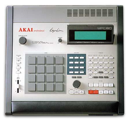 An Akai MPC60, the first MPC model