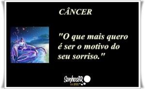 Signo de Câncer – Frase