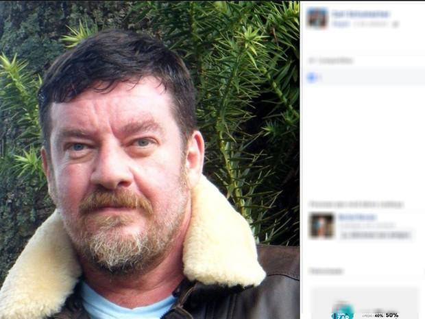 Ator e diretor Carl Schumacher morre aos 53 anos em Contagem. (Foto: Reprodução/Facebook)