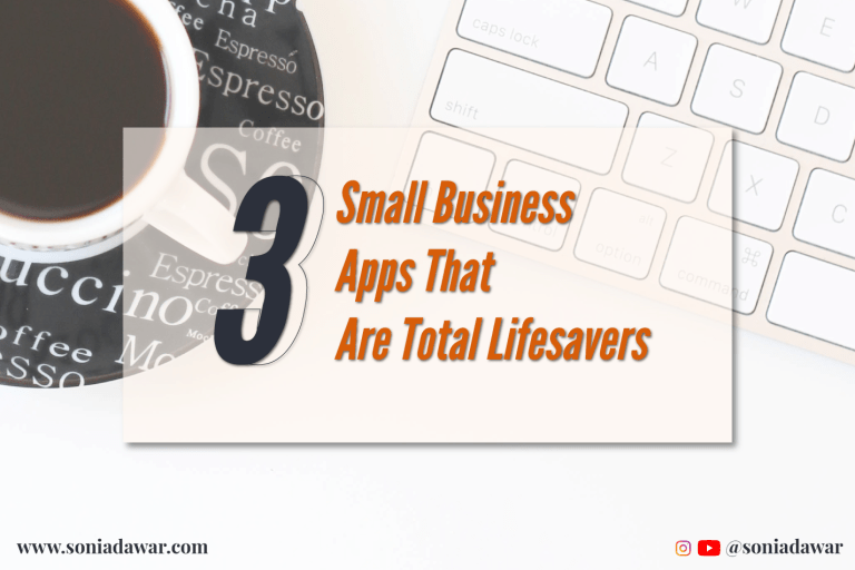 Read more about the article 3 small business apps that are total lifesavers
