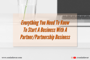 how to start a business with a partner