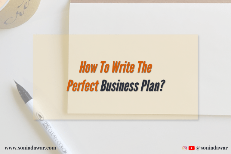 Read more about the article How to write the perfect business plan?