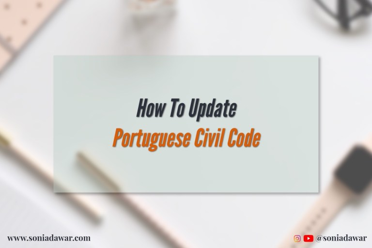Read more about the article How to Update Portuguese Civil Code Applicability on Income Tax New Portal
