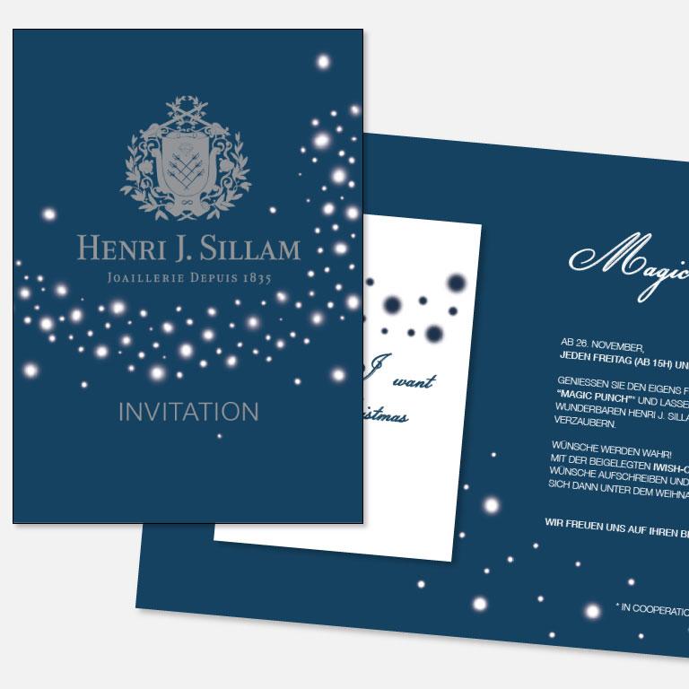 Sillam Adventpunsch Einladung