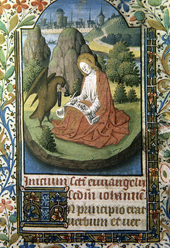 Image result for john on patmos book of hours