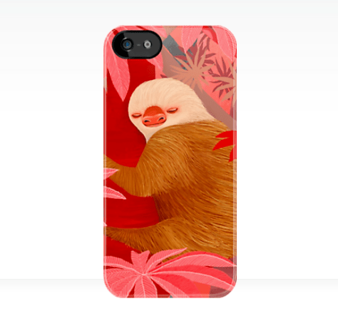 sloth-phone cover