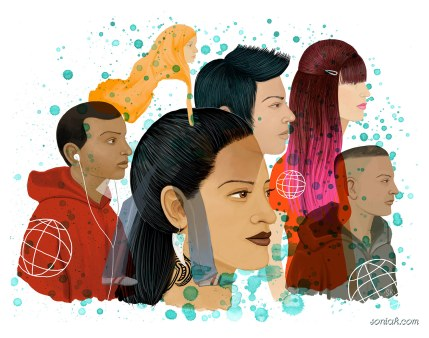 Multi-cultural Teens