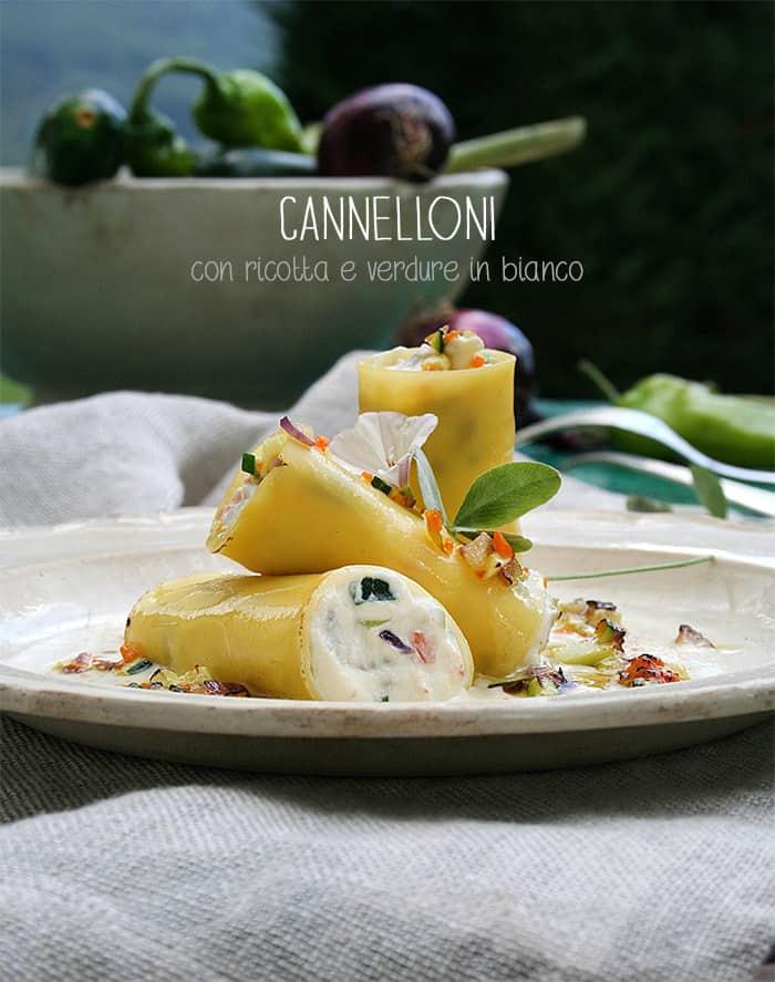 Cannelloni con ricotta e verdure