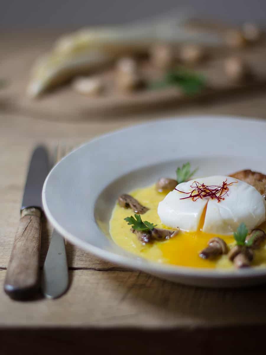 Uovo con zafferano