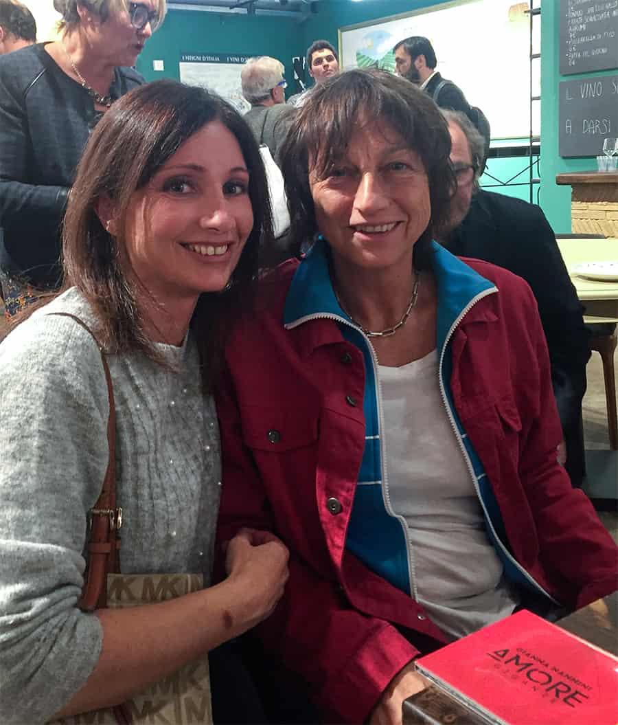 Gianna Nannini e Sonia Paladini