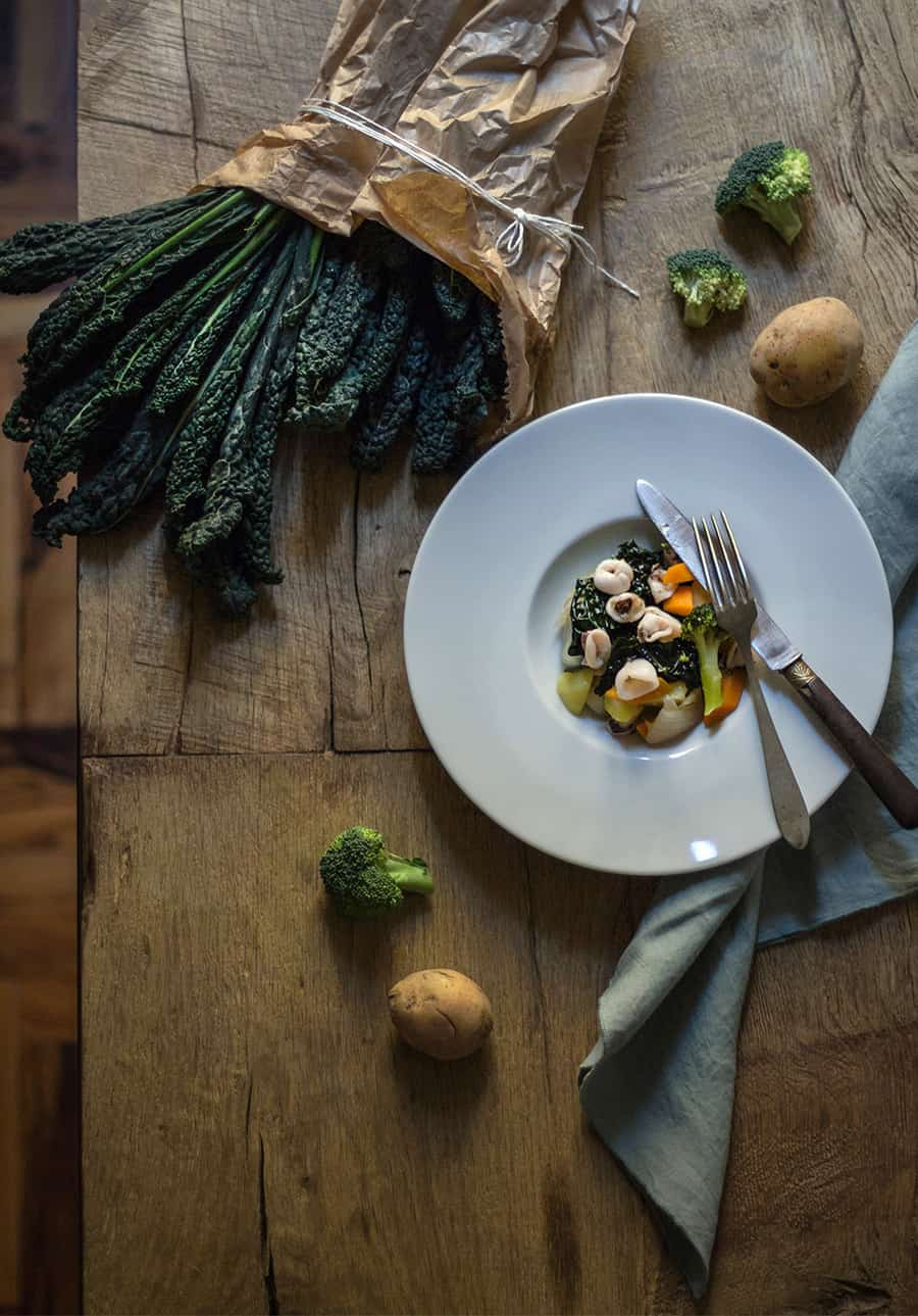 ricetta calamari con verdure di stagione