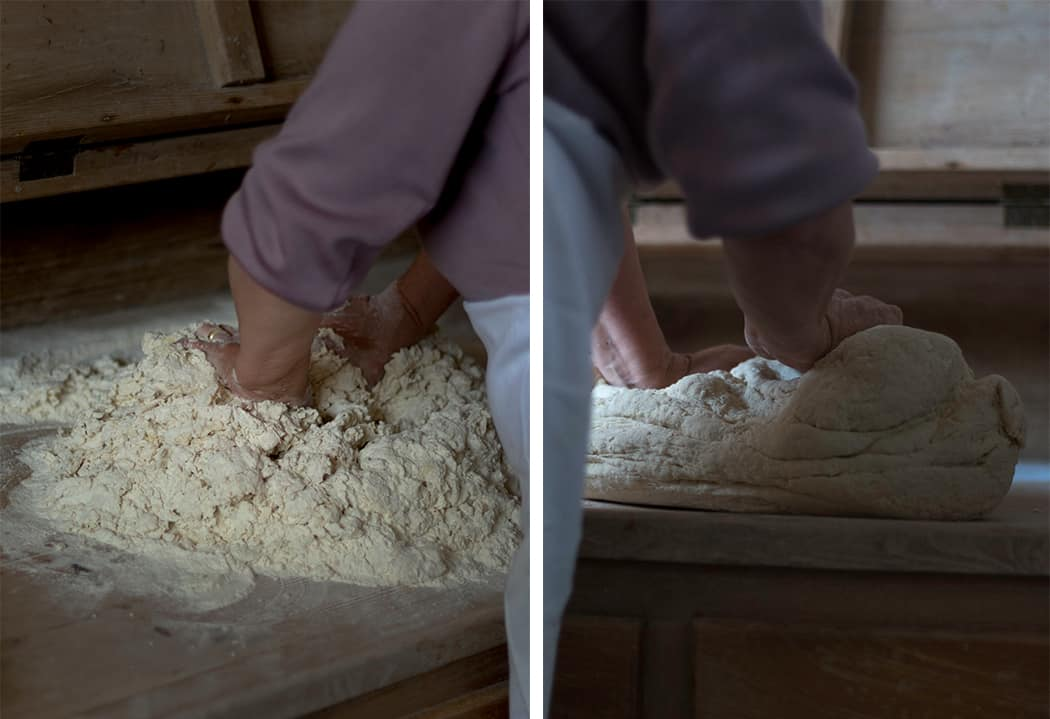 impasto del pane
