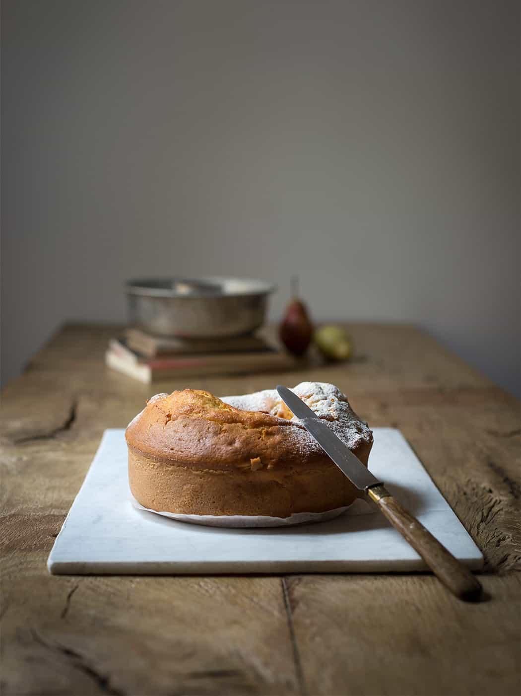 ricetta torta di pere con crema al mascarpone